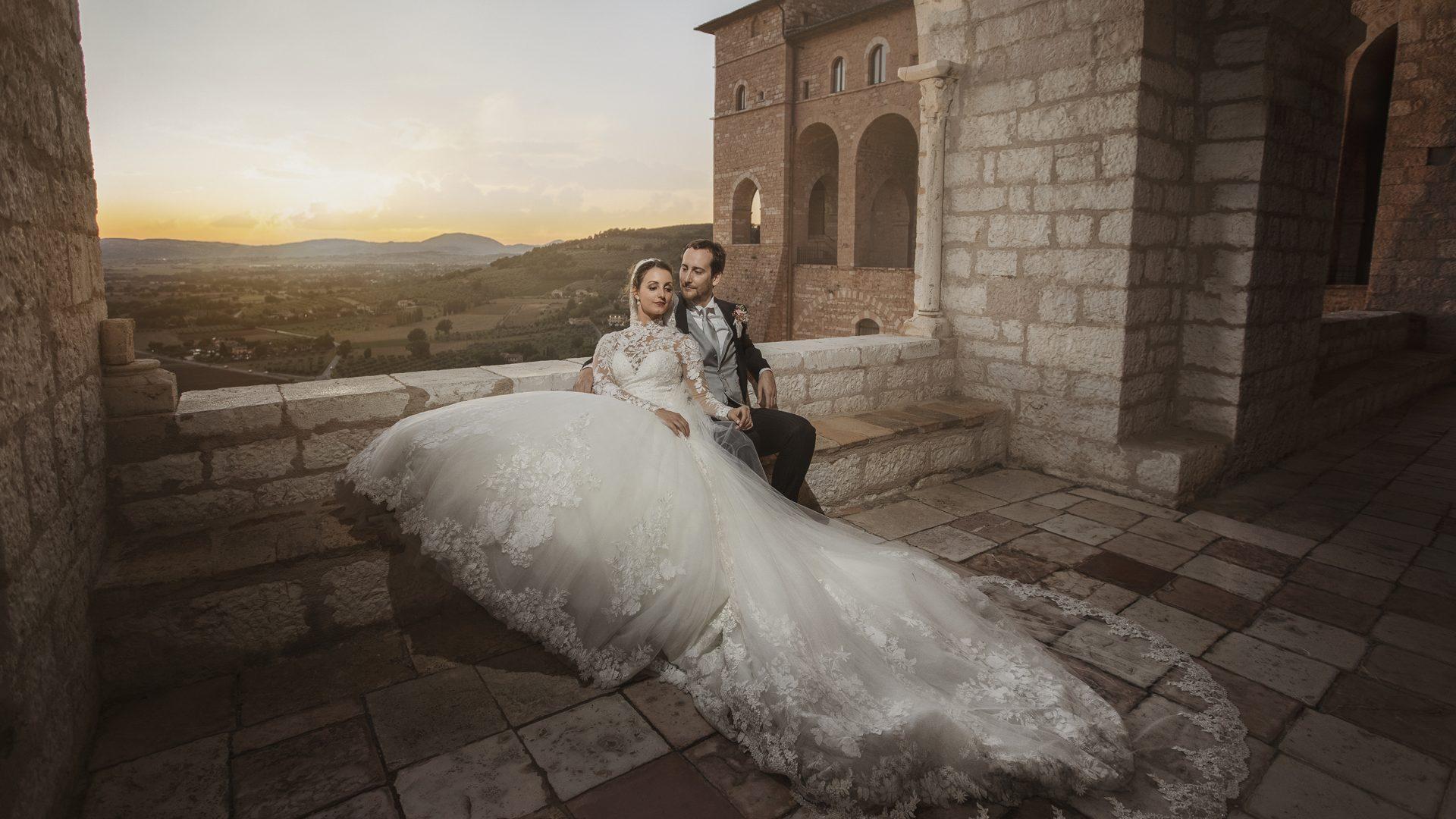Federico e Desireè - matrimonio ad assisi